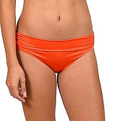 Lisca - Orange 'Gran Canaria' high waisted bikini briefs