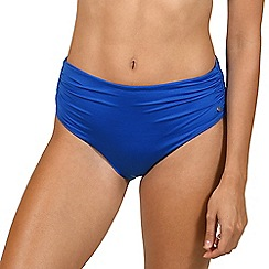 Lisca - Blue 'Gran Canaria' high waisted bikini briefs