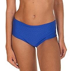 Lisca - Blue 'Kala Nera' Highwaisted Bikini Bottoms