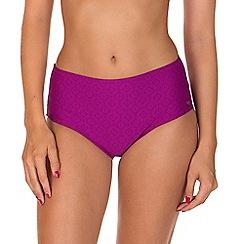 Lisca - Purple 'Kala Nera' Highwaisted Bikini Bottoms