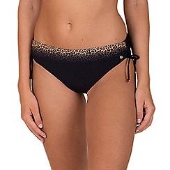 Lisca - Black 'Isola Bella' High Waisted Bikini Briefs