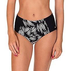 Lisca - Black 'Lagos' Highwaisted Bikini Bottoms