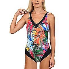 Lisca - Multicoloured 'Favone' non-wired swimsuit