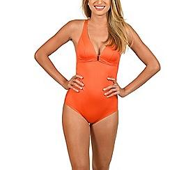 Lisca - Orange 'Gran Canaria' underwired swimsuit
