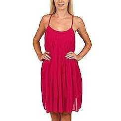 Lisca - Red 'Jakarta' beach dress