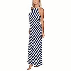 Lisca - Blue stripe 'Egipt' maxi dress