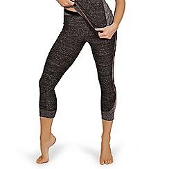 Lisca - Grey 'Cheek' sports capri pants