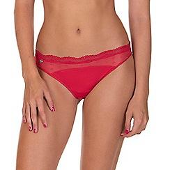 Lisca - Red 'Sweet Love' Bikini Knickers