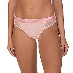 Lisca - Pink 'Dotty' Bikini Knickers