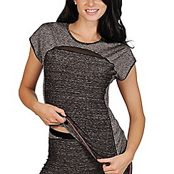 Lisca - Grey 'Cheek' sports t-shirt