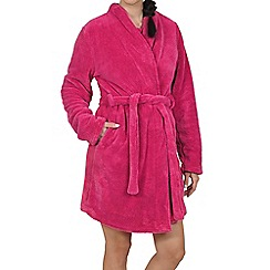 Lisca - Magenta soft dressing gown
