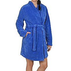Lisca - Blue soft dressing gown