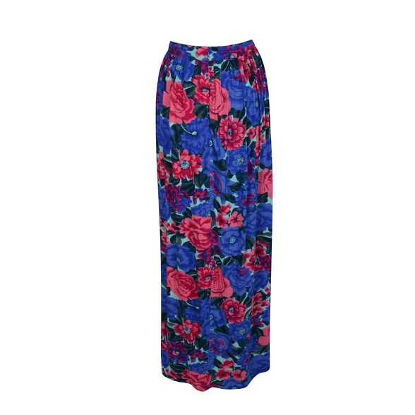 floral Multicoloured maxi Fever skirt 'Dahlia' wA8qYwnS