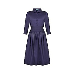 Fever - Navy 'Ella' shirt dress