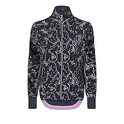 Elle Sport - Grey reflective print batwing jacket