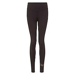Elle Sport - Black mesh panelled leggings
