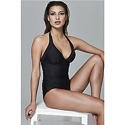 Elle Sport - Black halter neck swimsuit