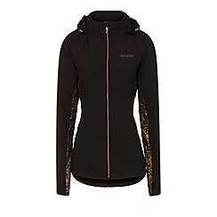 Elle Sport - Black woven jacket with detachable hood