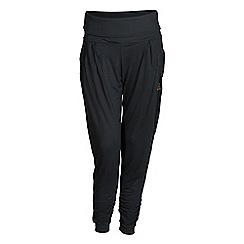 Elle Sport - Blue roll waist joggers