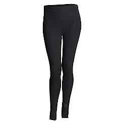 Elle Sport - Black mesh panel leggings