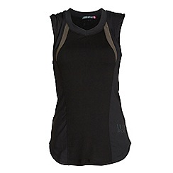 Elle Sport - Black v neck workout vest