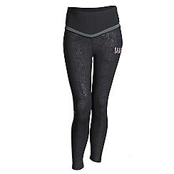 Elle Sport - Black 7/8 length high waist sports leggings
