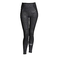 Elle Sport - Black sculptured sports leggings