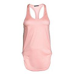 Elle Sport - Pink racer back sports vest