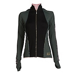 Elle Sport - Green hooded sports jacket