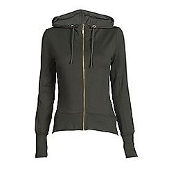 Elle Sport - Green casual long sleeve hoodie