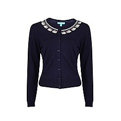 Fever - Navy 'Ingrid' cardigan