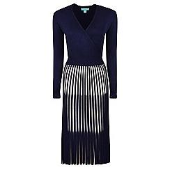 Fever - Navy 'Lila' knitted dress