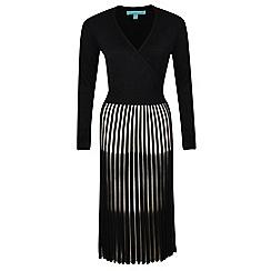 Fever - Black 'Lila' knitted dress