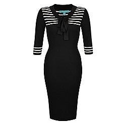 Fever - Black 'Lowell' pencil dress