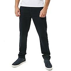 Threadbare - Navy 'Boston' Chino Trousers