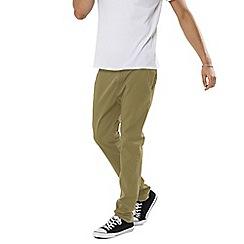 Threadbare - Camel 'Boston' Chino Trousers