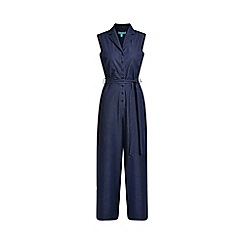 Fever - Dark Blue Denim 'Yvonne' Jumpsuit
