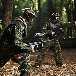Buyagift - Full Day Paintballing Gift Experience Day for 2