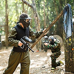 Buyagift - Full Day Paintballing Gift Experience Day for Four