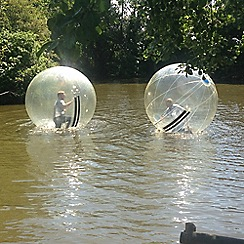 Buyagift - 2 for 1 Water Zorbing Gift Experience for 2