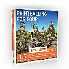 Buyagift - Paintballing for Four Smartbox Gift Experience Day for 4
