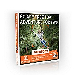 Buyagift - Go Ape Tree Top Adventure Smartbox Gift Experience Day for 2