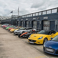 Buyagift - Supercar Driving Blast with Free High Speed Passenger Ride - Week Round Gift Experience