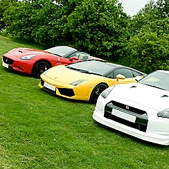 Buyagift - Triple Supercar Driving Blast with Free High Speed Passenger Ride - Week Round Gift Experience