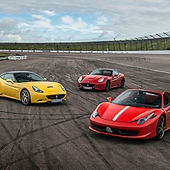 Buyagift - Triple Supercar Driving Blast at a Top UK Race Track Gift Experience