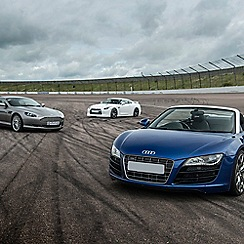 Buyagift - Triple Supercar Driving Thrill at a Top UK Race Track Gift Experience