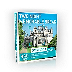 Buyagift - Two Night Memorable Minibreak Smartbox Gift Experience for 2