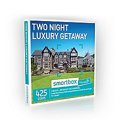 Buyagift - Two Night Luxury Getaway Smartbox Gift Experience for 2