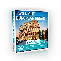 Buyagift - Two Night European Minibreak Smartbox Gift Experience for 2
