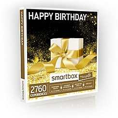 Buyagift - Happy Birthday! Smartbox Gift Experience for 2